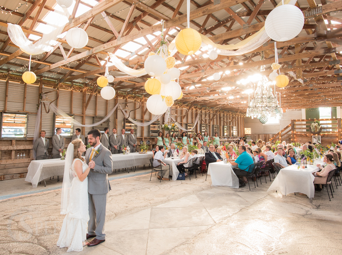 sinkland farms wedding reception