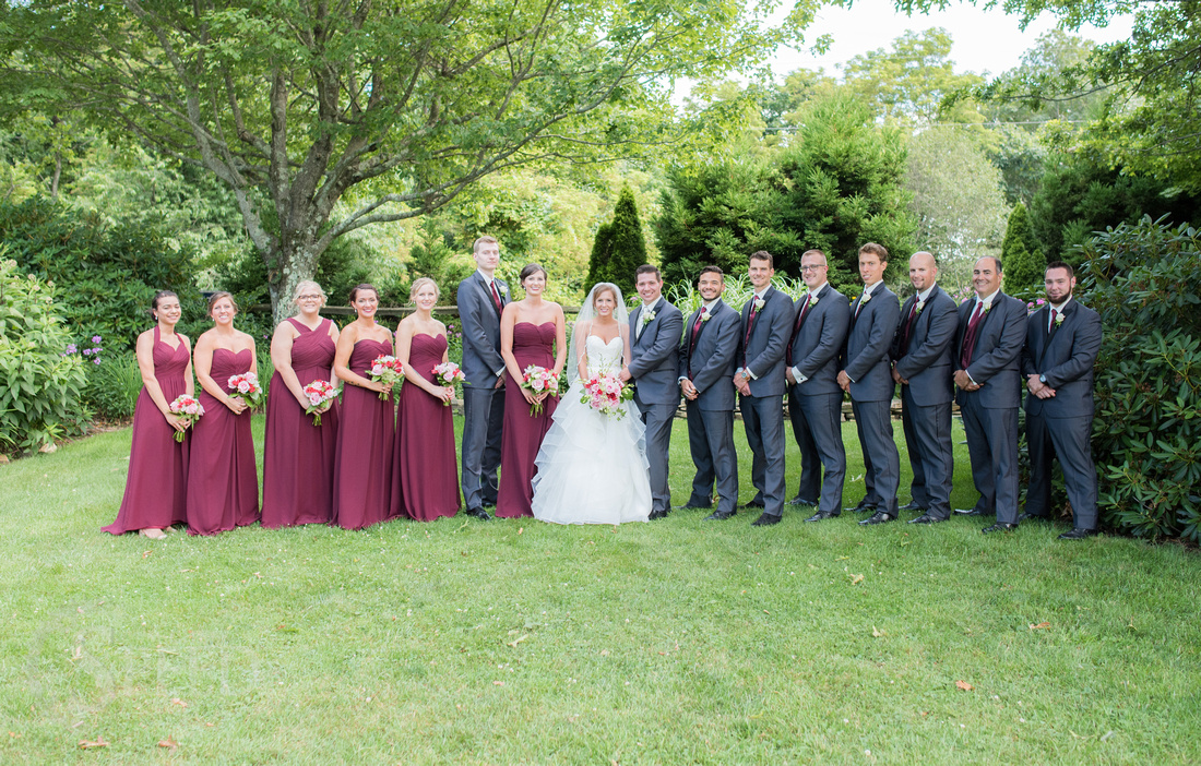 Wedding Portraits at chateau morrisette