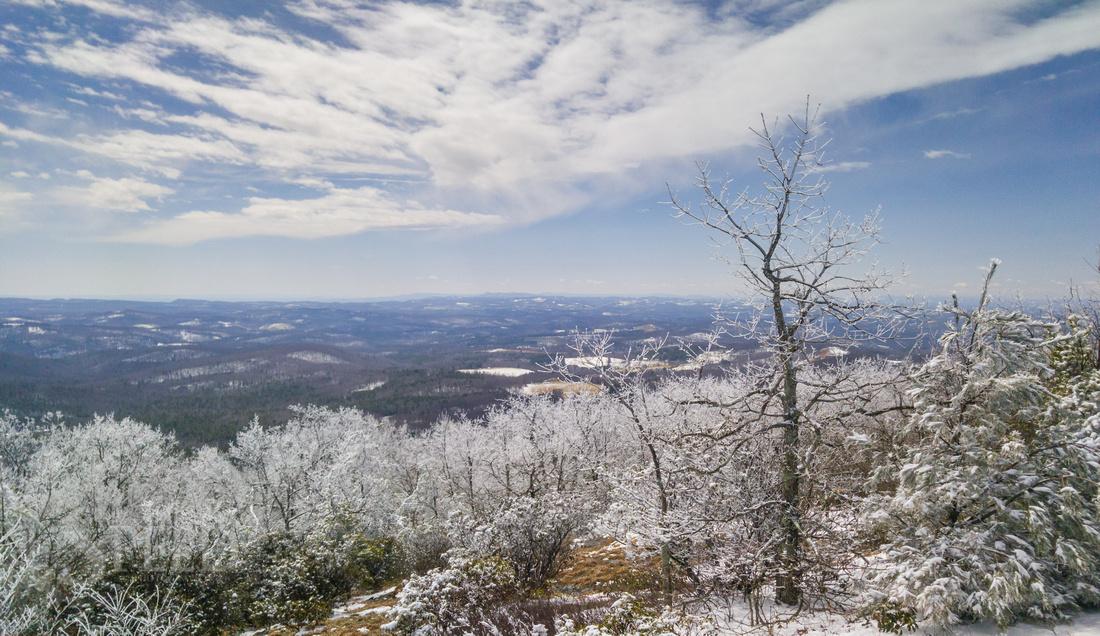 Buffalo Mountain Winter Hike