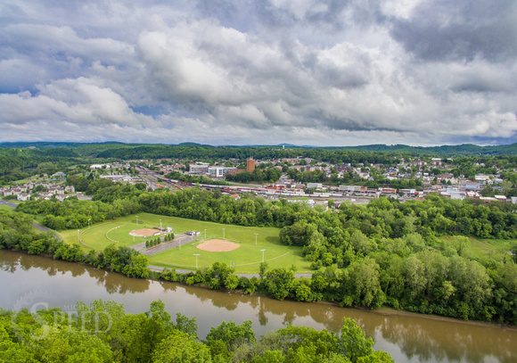 Radford Virginia Aerial Photo