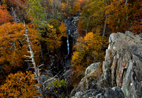 White Oak Falls - fall color.