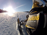 West Yellowstone Snowmobile Trip