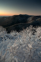Predawn light on the mountains of North Carolina