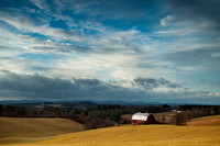 Scenic Pastures and Barns in Virginia