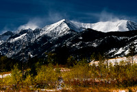 Vibrant color at the Crazy Mountains