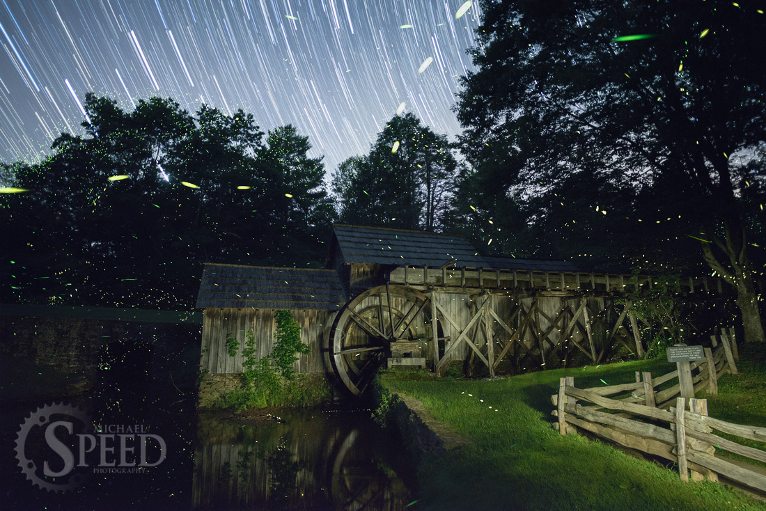 Mabry Mill Lightning Bugs