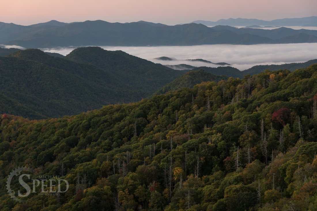 Smoky Mountains Sunrise