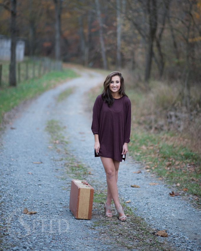 senior portraits giles county virginia
