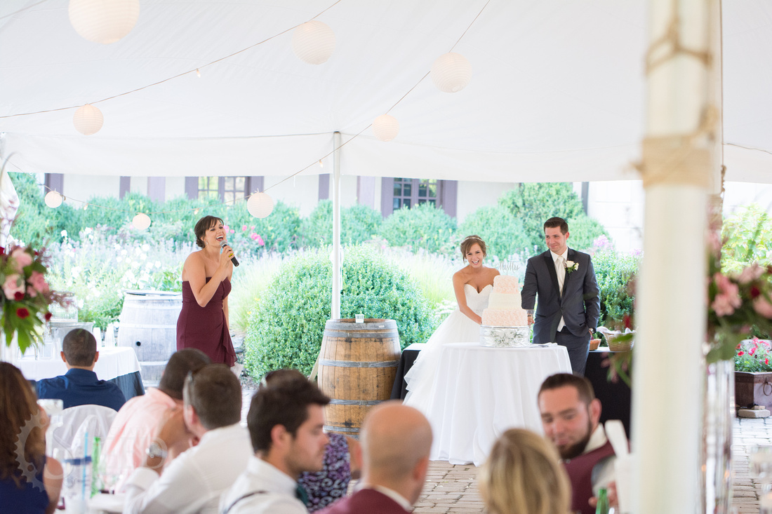 Wedding Reception Chateau Morrisette