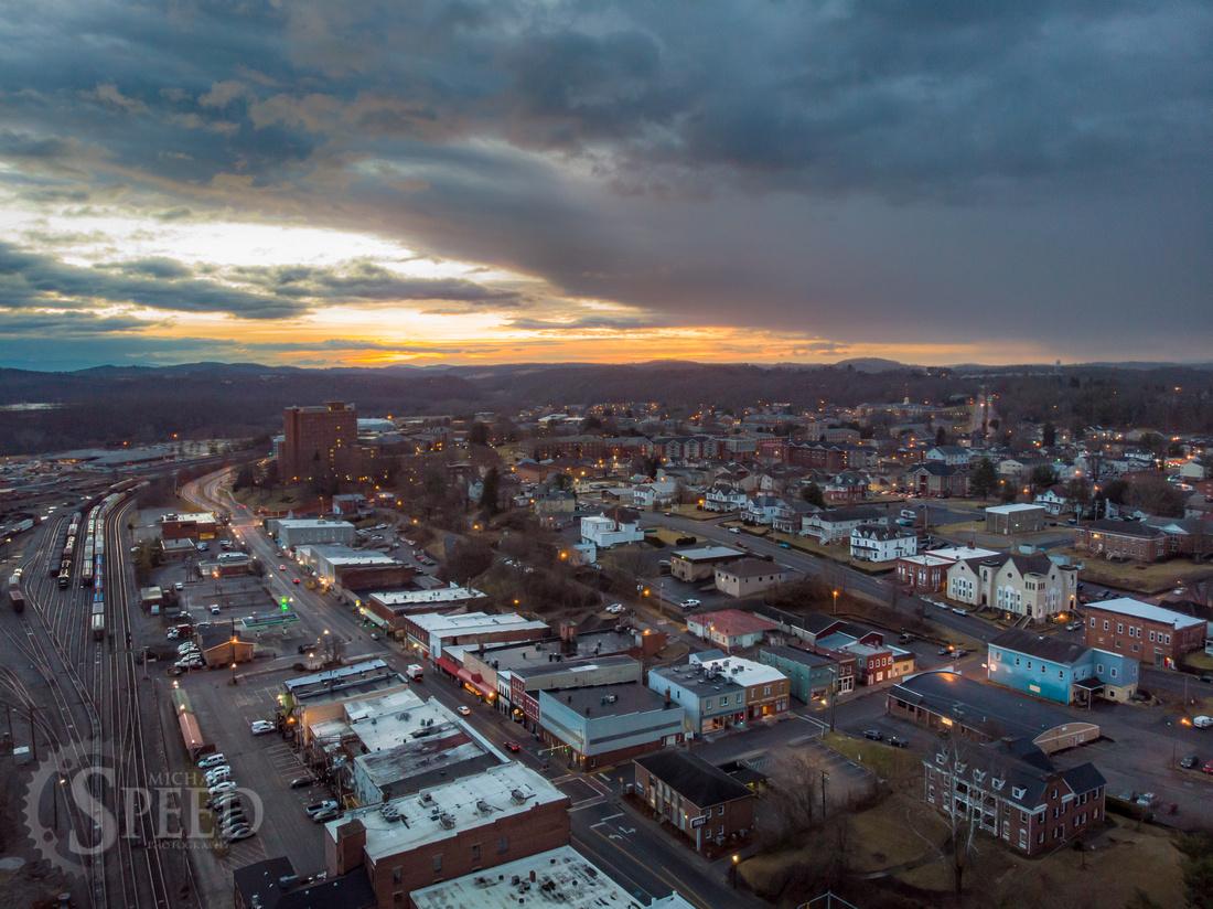 Radford Virginia Drone Photos