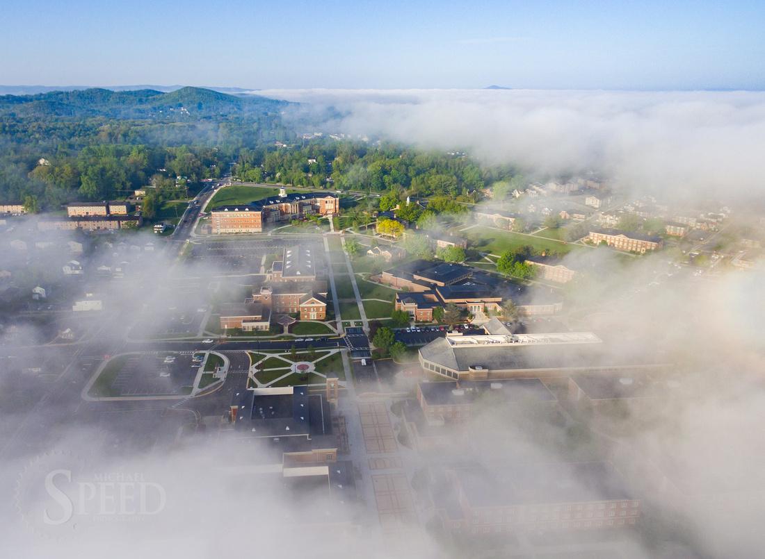Radford University Fog