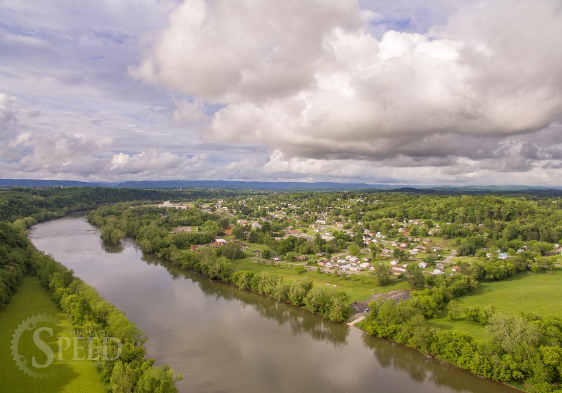 Radford Virginia Aerial Photo