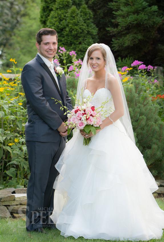 Wedding Portraits at chateau morrisette