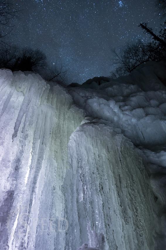 Cascades at Night