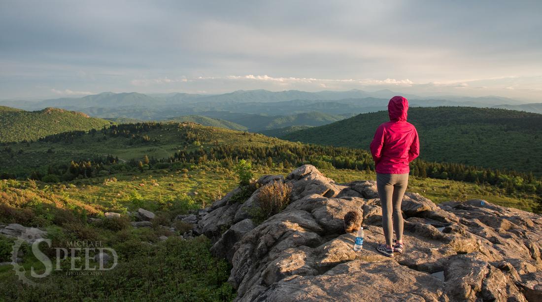 hiking mount rogers