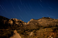 Stars over Bighorn Canyon - Upper Layout Creek