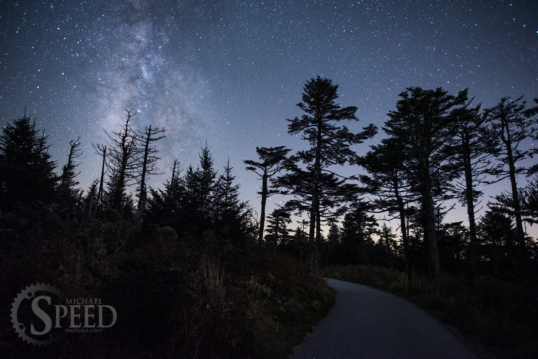 Clingmans Dome at Night