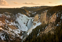 Lower Falls at Sunset